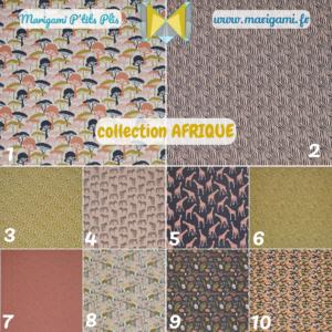 papier collection afrique marigami origami