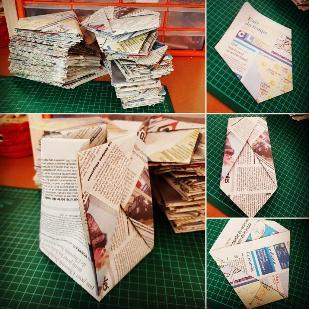 marigami origami sachet origami en papier journal