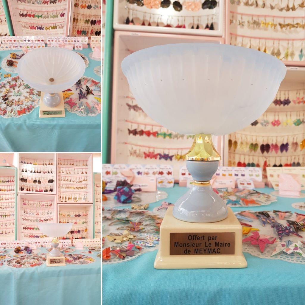 marigami origami 1er prix journées artisanales d art Meymac