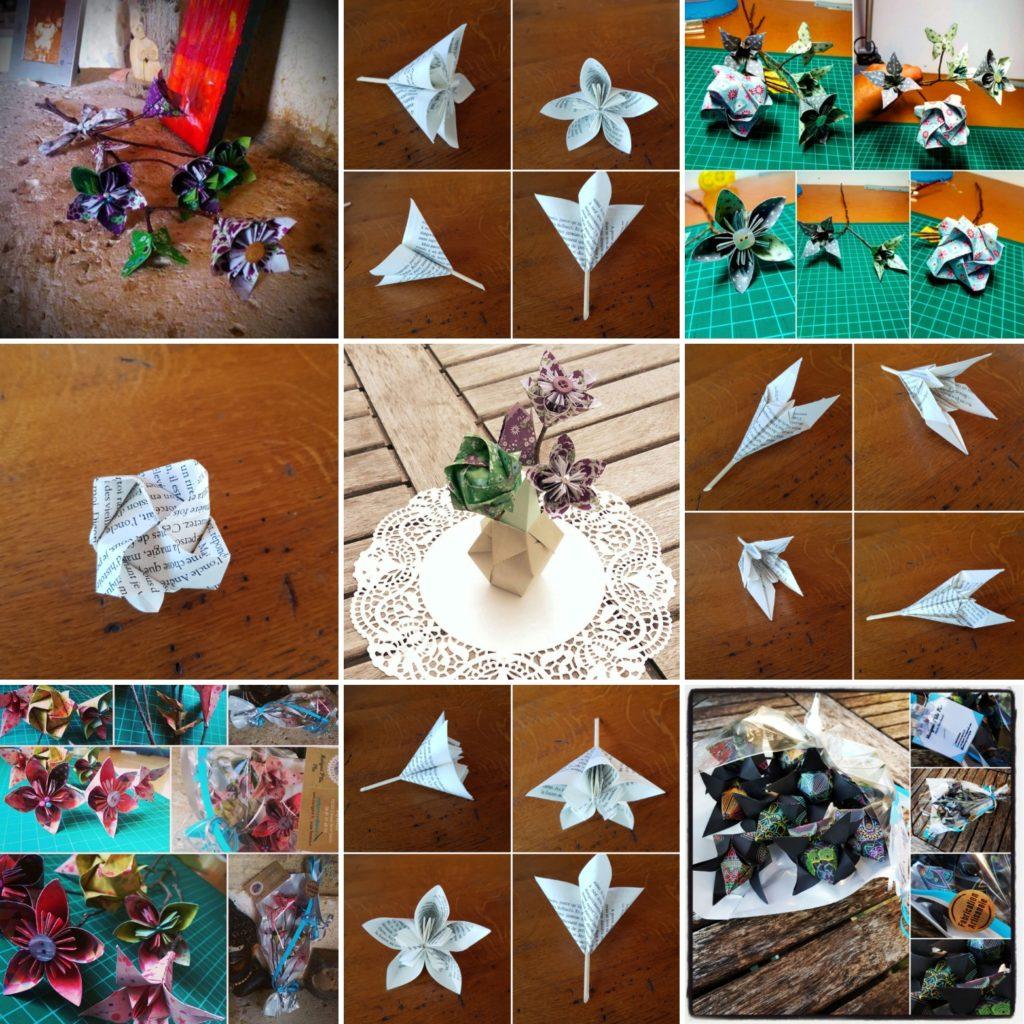 marigami origami fleurogami