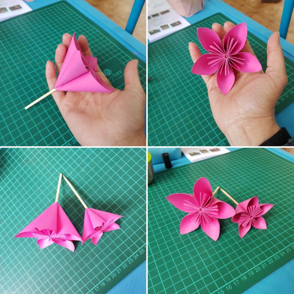 marigami origami dyson fleurogami