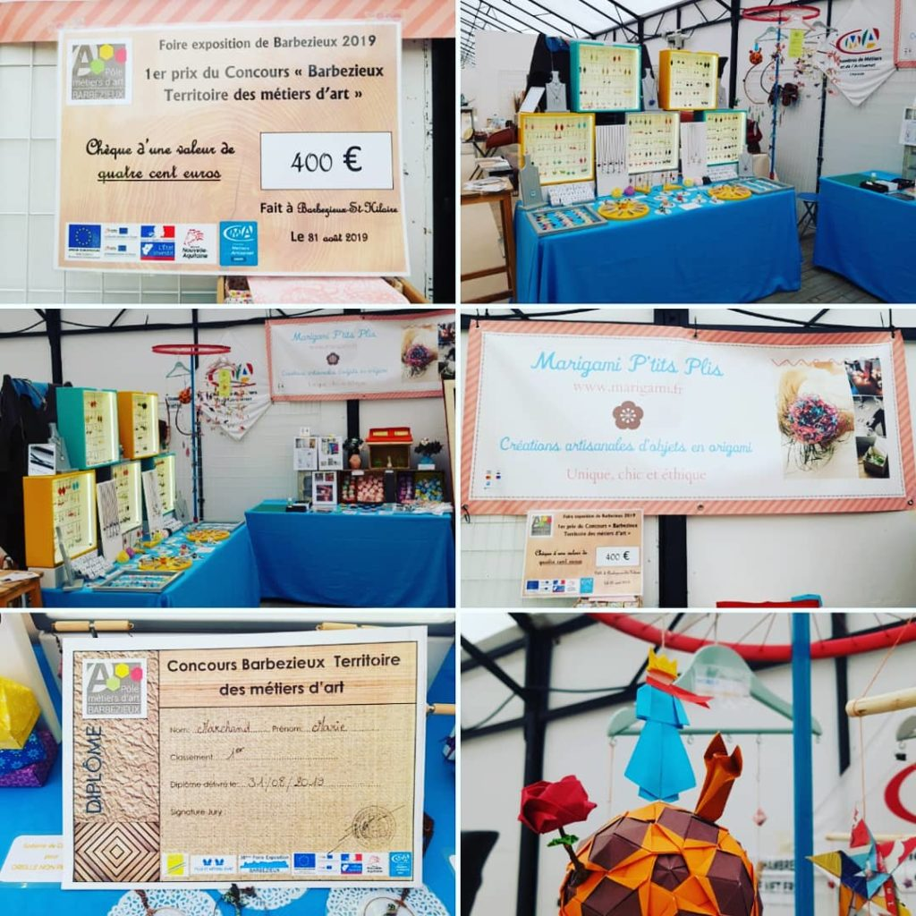 marigami origami concours Barbezieux