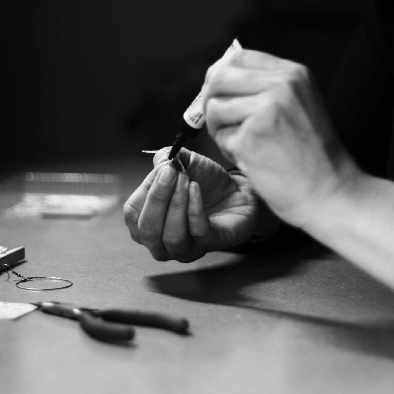 marigami origami main au travail